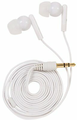 GetPower Hands-free Earbuds Wired Headset for Universal/Smartphones - White