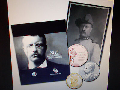2013 Theodore Roosevelt Coin & Chronicles Set