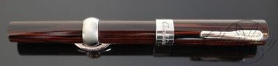 Conklin Limited Ed. Mark Twain Ebonite Crescent Fill Fountain Pen 14K nib flex