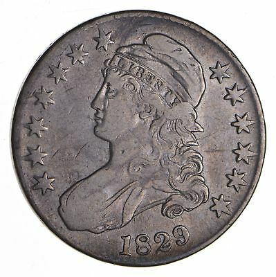 1829 Capped Bust Half Dollar - Circulated *9069