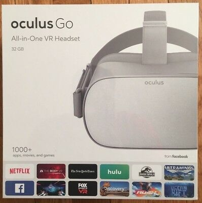 Oculus Go ALL IN ONE 32GB VR Headset BRAND NEW IN BOX!!!!!