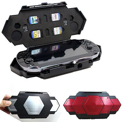 RED Steel Armor Case Cover EVA Bag Replace For Sony Playstation PS Vita PSV 1000