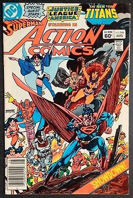 Action Comics Comic Book #546 DC Comics 1983