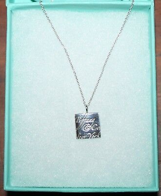 ~Women's Tiffany & Co~New York .925 Sterling Silver Necklace
