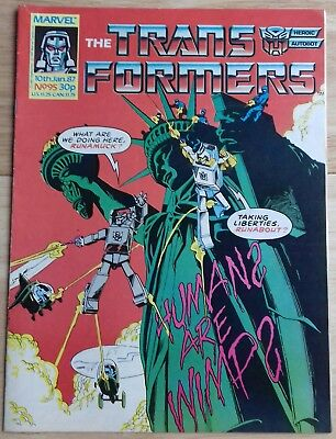 Transformers UK Comic Issue 95