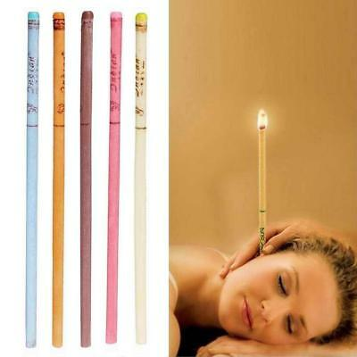 10pcs Coning Beewax Quicker Ear Candling Therapy Straight Style Ear Care