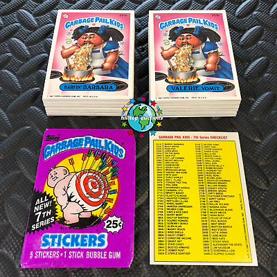 GARBAGE PAIL KIDS WE HATE THE 90's! 2019 COMPLETE 220-CARD SET +WRAPPER! BUY=NOW