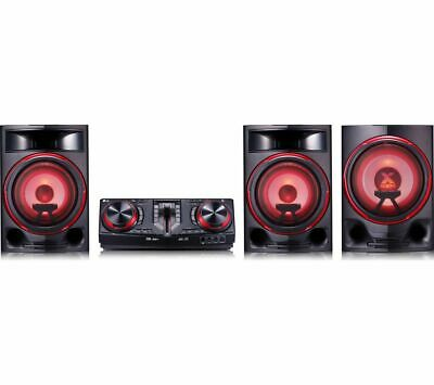 LG CJ88 Bluetooth Megasound Party Hi-Fi System - Black - Currys