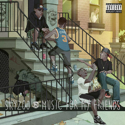 Skyzoo - Music for My Friends [New CD] Explicit, Digipack Packaging (S2)