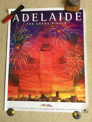 Adelaide 1995 Formula 1 Grand Prix official poster