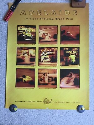 Adelaide 1994 Formula 1 Grand Prix Official poster