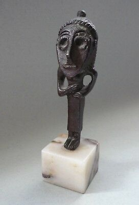 Small Nuragic cult figurine. Late Bronze age - early Iron Age