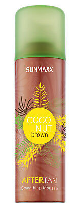 Sunmaxx Coconut Brown After-Tan Smoothing Mousse Solariumkosmetik 200 ml
