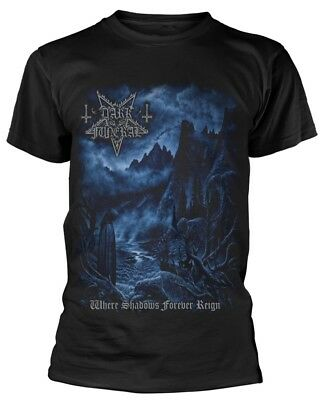 Dark Funeral 'Where Shadows Forever Reign' T-Shirt - NEW & OFFICIAL