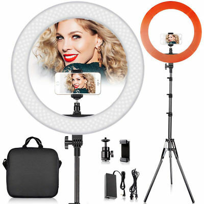 """12"""" 240Pcs LED Ring Light Dimmable 5500K for SmartPhone/Camera with Light Stand"""