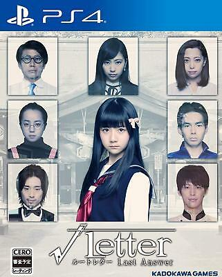 NEW PS4 √Letter Last Answer JAPAN Sony PlayStation 4 Root Letter import Japanese