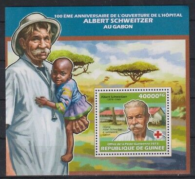 W203. Guinea - MNH - 2013 - Famous People - Red Cross - Bl.