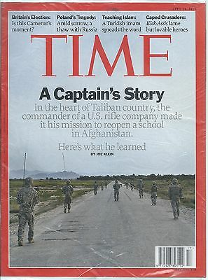NEW / SEALED Time Magazine 26 Apr 2010 - A Captain's Story Poland Tragedy Islam