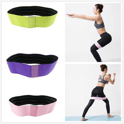 Resistance Hip Circle Band Booty Sports Glute Non-Slip Peach Glute Loop Band