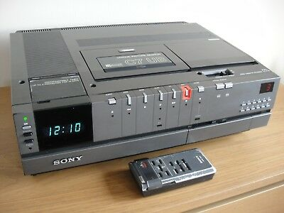 Sony SL-C7UB Betamax Video Recorder  - Fully Working - Excellent Condition
