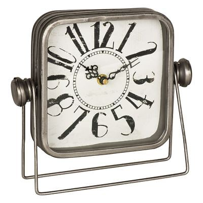 Nottingham Style Shelf Clock With Large Numbers Freestanding Mantle Clock