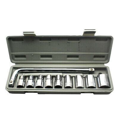 10Pcs 1/2-Inch Socket Wrench Set Drive Ratchet Wrench Spanner