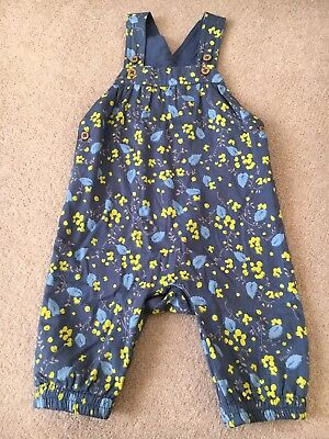 Marks And Spencer Baby Girls Dungarees 9-12 Months