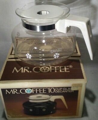Mr Coffee Replacement Gl Decanter 10 Cup New In Opened Box Model D