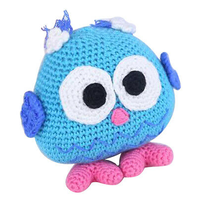 DIY Owl Baby Doll Crochet Kit Kit Knitting Pattern and Materials Kids Gifts