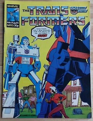 Transformers UK Comic Issue 73