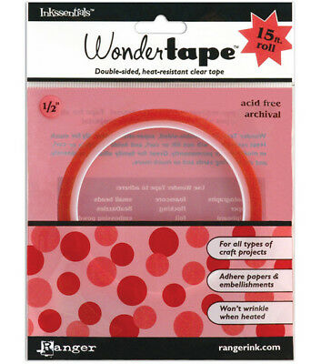"Ranger Inkssentials Redline Wonder Tape - 1/2"" x 15ft"