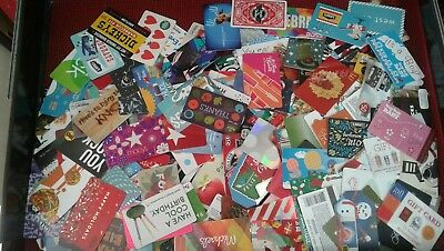 One Thousand Five Hundred (1,500) Gift Cards New Collectible Assorted, Beautiful