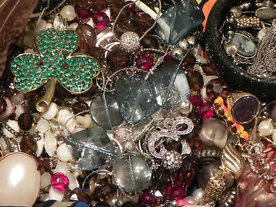 Estate Sale Lot of Vintage to Modern Jewelry, #847