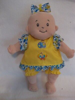 Baby Stella doll clothes//15 inch//elephant print top//purple pants//bloomers//bow