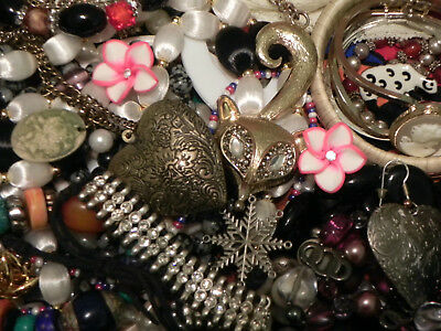 Estate Sale Lot of Vintage to Modern Jewelry, #848