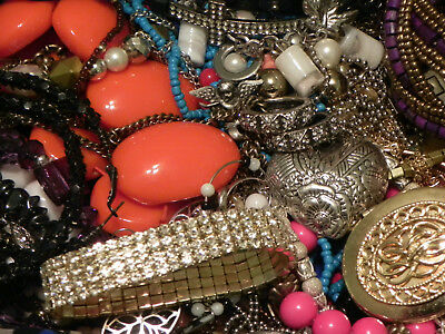 Estate Sale Lot of Vintage to Modern Jewelry, #849