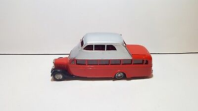 RARE Vintage MODELTRANS Hispano Suiza T69 Autocar 1934 1:43 Spain Resin used co.