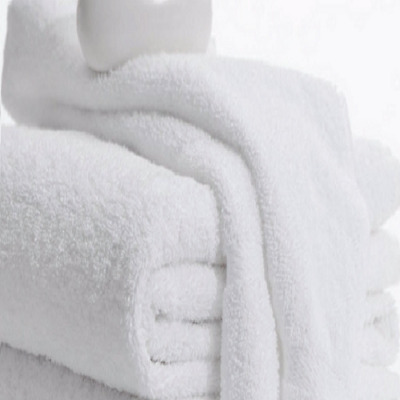 Bath Towels hotel motel gym salon 6 Pack 22x44 inches White 6.0 Lbs 100% Cotton