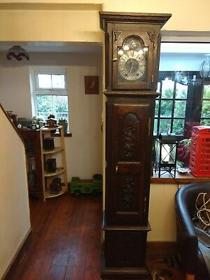 French longcase clock