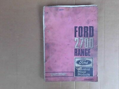 Ford 2700 Engine Service Manual