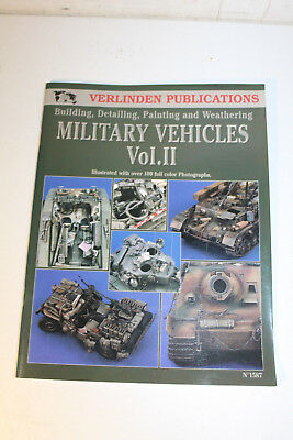 Verlinden Publications 1587 Vol. 2 Heft Modellbau Building Militär Vehicles