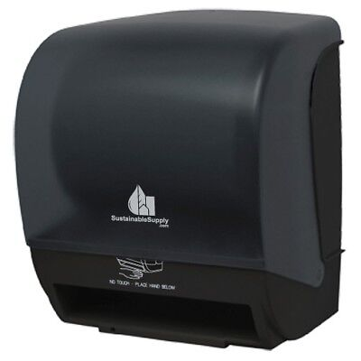 Sustainable Supply Automatic Touchfree Roll Towel Dispenser - User Adjustable,