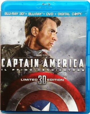 Blu-ray Captain America - The primo avenger Limited Edition (3D+2D+DVD) Used