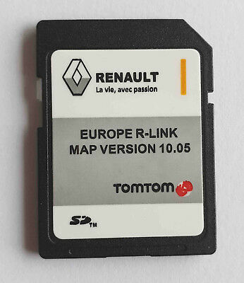 Carte SD GPS Europe 2018 - 10.05 - Renault R-Link