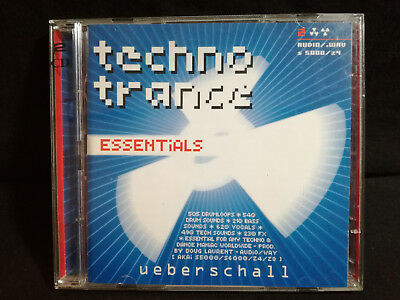 Ueberschall – Techno Trance Essentials - 2-CD's Loops Samples