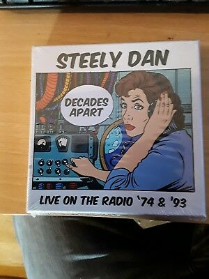 STEELY DAN Live On The Radio '74 & '93 5 x CD BOX SET 2017 SOUND STAGE sealed