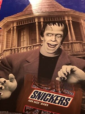 Vintage Rare '90s The Munsters Halloween Candy Advertising Store Display Monster
