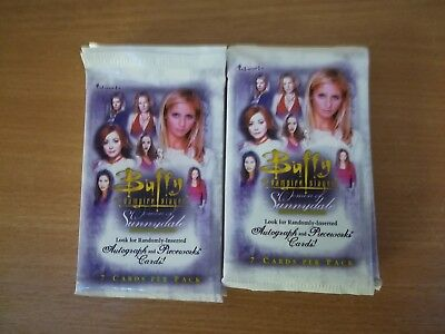 Buffy The Vampire Slayer Women Of Sunnydale Lot Of 20 Sealed Trading Card Packs