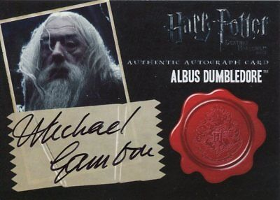 Harry Potter And The Deathly Hallows Part 2 Autograph Michael Gambon