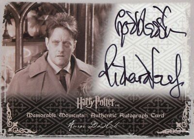 Harry Potter Memorable Moments 2 Autograph Richard Leaf